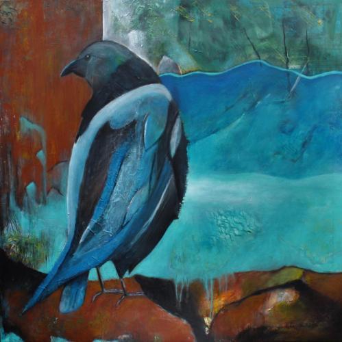 Blue bird © 2020